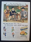 1937 Nucoa Margarine with 4 Children Running