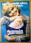 Click to view larger image of 1978 Charmin Toilet Tissue with Woman Hugging Tissue (Image2)