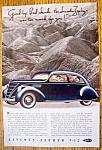 Vintage Ad: 1937 Lincoln-Zephyr V-12