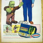 Click to view larger image of 1965 Aurora Gigantic Frankenstein with Big Frankie (Image2)