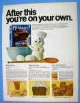 1970 Pillsbury Create A Cake Mix with Different Recipes