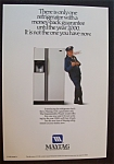 1989  Maytag  Refrigerator  with  the  Maytag  Man