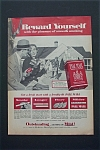 1956 Pall Mall Cigarettes with Man Putting Up Sold Sign