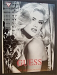 Vintage Ad: 1992 Guess with Anna Nicole Smith