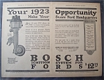 1923  Bosch  Ignition  System  For  Fords