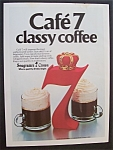 1981  Seagram's 7  Crown  &  Coffee