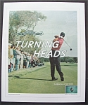 Click here to enlarge image and see more about item 6166: Vintage Ad: 2004 American Express with Tiger Woods