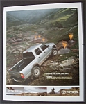 Click here to enlarge image and see more about item 6172: Vintage Ad: 2003 Toyota Tacoma