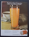 1968  Frozen Orange Juice