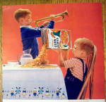 Click to view larger image of 1963 Kellogg's Corn Flakes with Boy Playing Horn (Image2)
