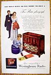 Vintage Ad: 1947 Westinghouse Radio