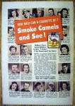 1950 Camel Cigarettes with Pinza, Piazza, Fabray & More