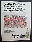 1968  Ronrico  Puerto  Rican  Rum