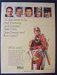 Vintage Ad: 1966 Wilson Sporting Goods w/Snead, Santo