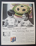 1931  Quaker  Puffed  Rice  &  Puffed  Wheat