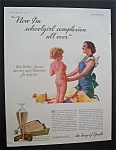 1933 Palmolive Soap with a Mother & Her Baby