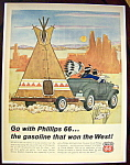 Vintage Ad: 1966 Phillips 66 Gasoline