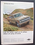 Click here to enlarge image and see more about item 6381: Vintage Ad: 1968 Chevrolet  Pick Up