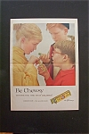 1959 Beech Nut Gum with Boy Giving Girl Piece of Gum