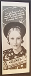 1935 Wrigley Double Mint Chewing Gum w/Woman & Hat
