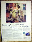 1931 P and G The White Naptha Soap w/Boy in Tray