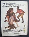 1969 Ronrico Puerto Rican Rum with Hunchback & Woman
