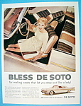 1959 De Soto with Woman Sitting in Driver's Seat