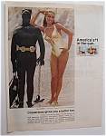 1969 Coppertone Suntan Lotion with Julie Newmar