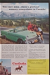 1957 Canada Vacations Unlimited with Couple Talking