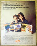 1971 Post Cereals with Mother & Little Boy with Cereals