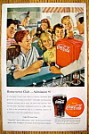 Click to view larger image of Vintage Ad: 1947 Coca Cola (Coke) (Image1)