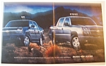 Click here to enlarge image and see more about item 6545: Vintage Ad: 2003  Chevrolet  Avalanche