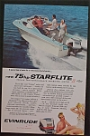 1959 Evinrude Outboards with People in a Boat