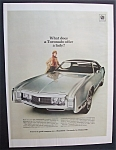 1969 Oldsmobile Toronado with a Lovely Woman