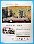 Click to view larger image of 1959 Dodge with a Great Pink Dodge  (Image1)