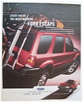 Click here to enlarge image and see more about item 6678: Vintage Ad: 2003  Ford  Escape