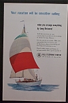 1959 Bell Telephone System with People on Sailboat