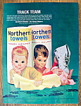 Click to view larger image of Vintage Ad: 1963 Northern Paper Towels (Image1)