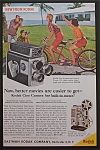 1959 Eastman Kodak Company with Bicycle Built for Two