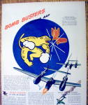 Click to view larger image of Vintage Ad: 1944 Oldsmobile Bomb Busters (Image2)