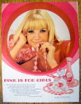 1968 Pink Lustre Creme Shampoo with Lovely Blonde Woman