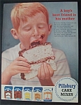 1954  Pillsbury  Cake  Mixes