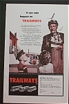 Click here to enlarge image and see more about item 682: Vintage Ad: 1959  Trailways