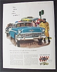 1956 Chevrolet with a Man & Woman