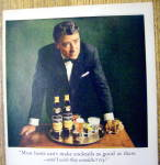 Click to view larger image of Vintage Ad: 1966 Heublein Cocktails with Peter Lawford (Image2)