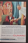 1959 Cunard with Two Men Talking