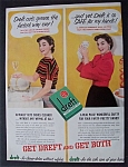 1954  Dreft  Dish  Cleaner