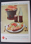 1960 Coca-Cola (Coke) with Fries & Lobster Tail