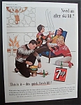 1963 7 Up (Seven Up) w/ Man with a Broken Arm Being Fed