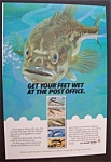 Click here to enlarge image and see more about item 7006: Vintage Ad: 1986 U. S. Postal Service